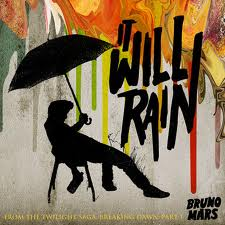 Nuty na Pianino Keyboard za darmo Bruno Mars - It Will Rain